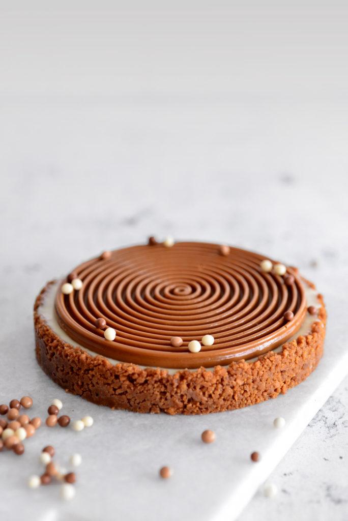 טארט לוטוס, מסקרפונה ושוקולד לבן