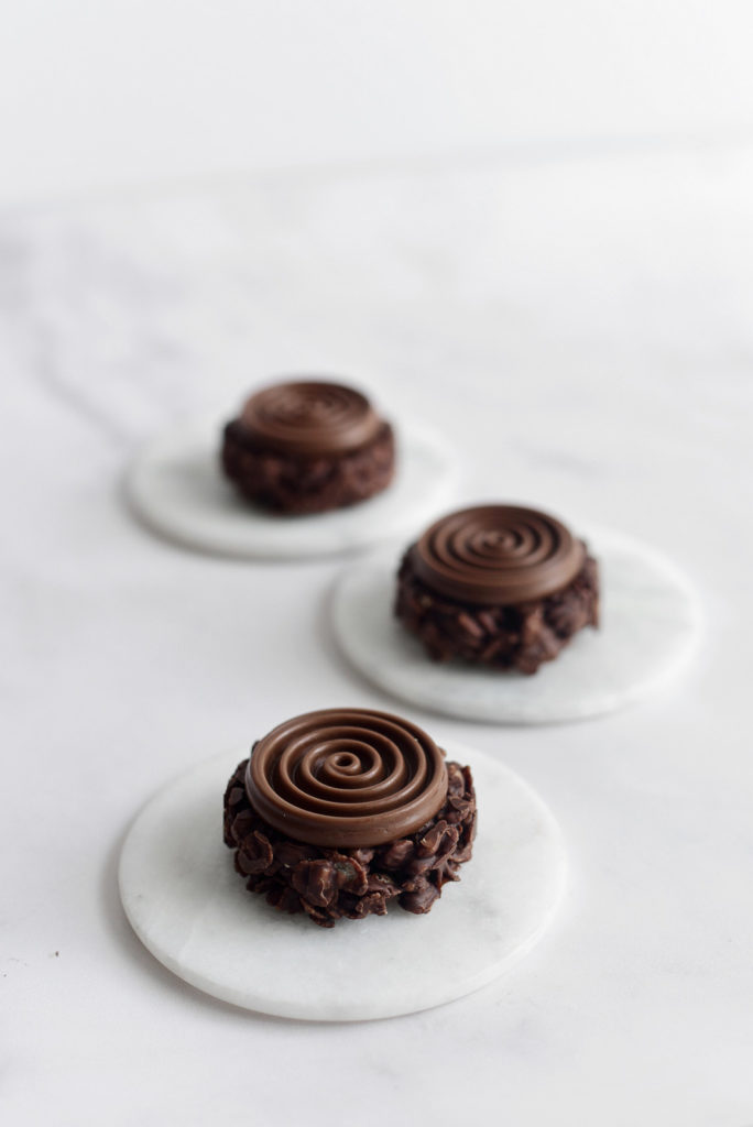 עוגיות קראנצ' שוקולד ופצפוצי אורז