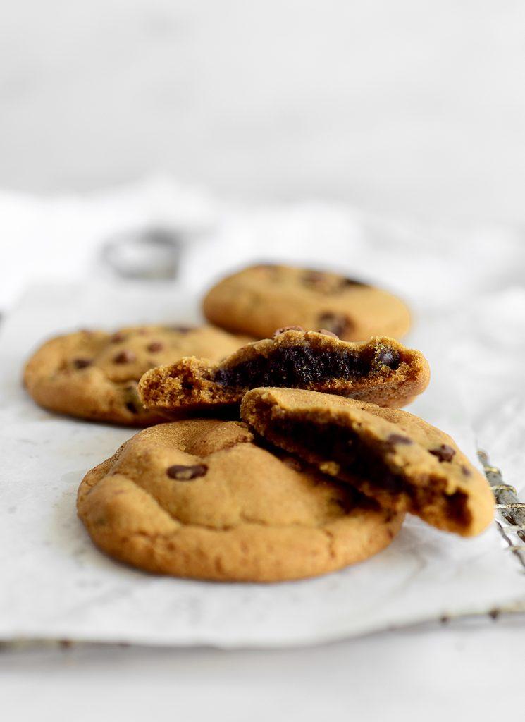 עוגיות במילוי בראוניז