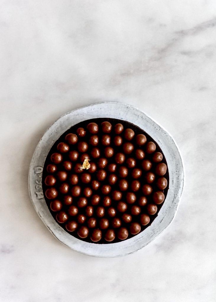 טארט שוקולד קרמל