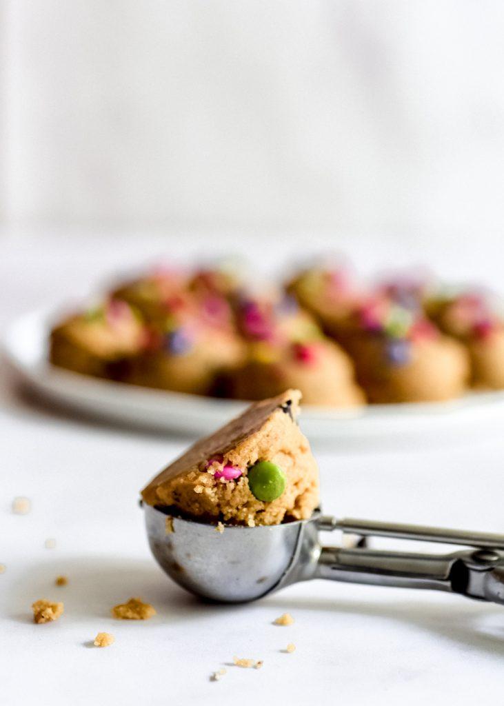 עוגיות חמאה חומה ועדשים