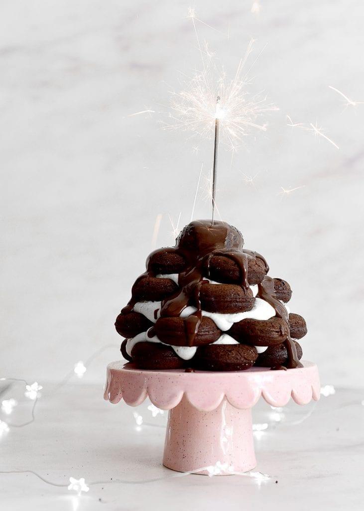 דונאטס שוקולד אפויים