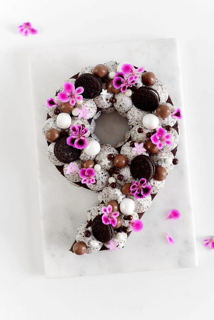 עוגת מספרים אוראו