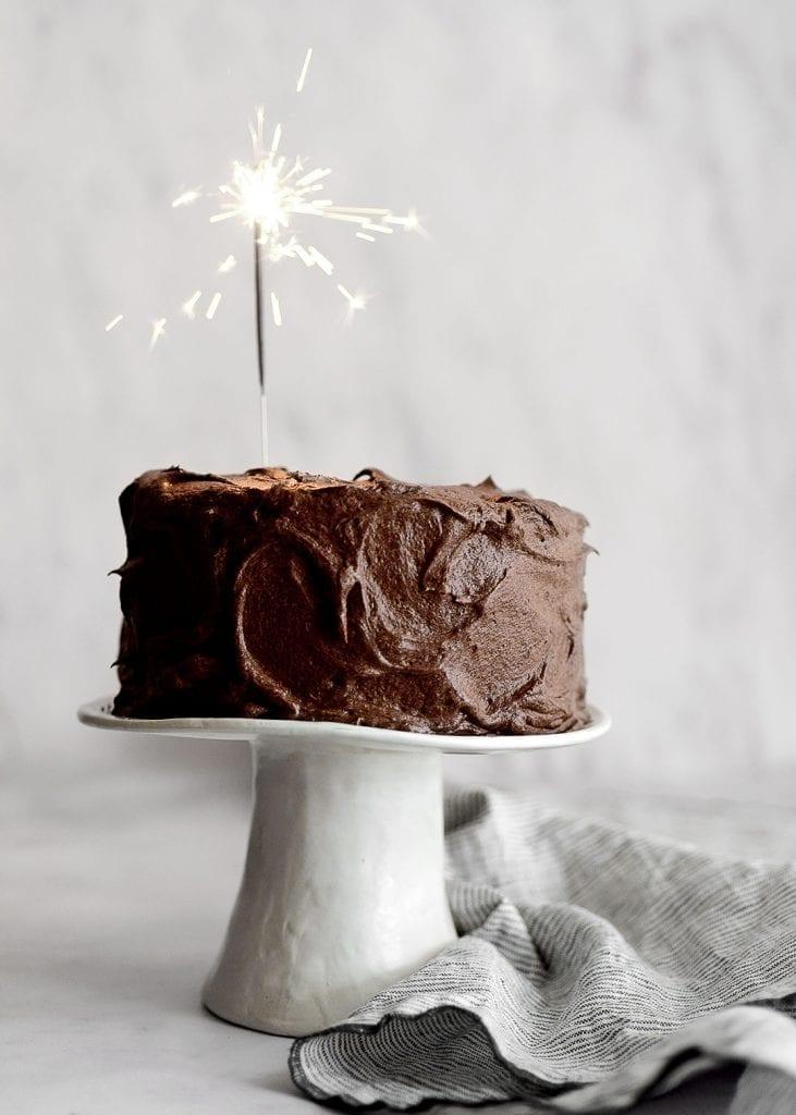 עוגת שוקולד עסיסית