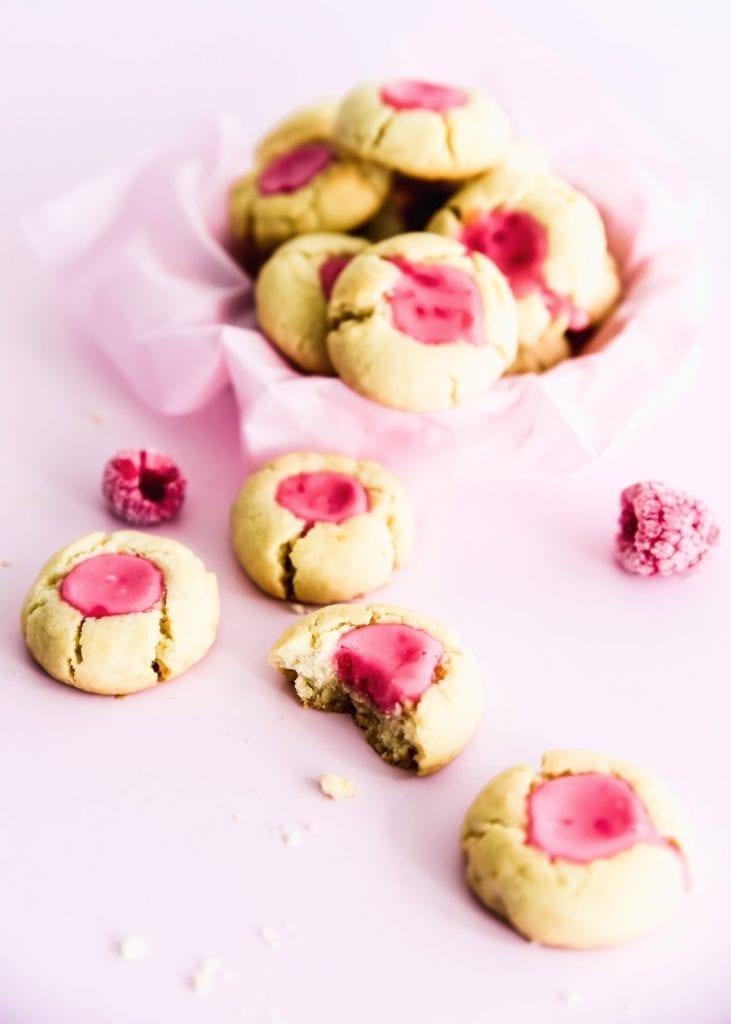 עוגיות לימונדה ורודה