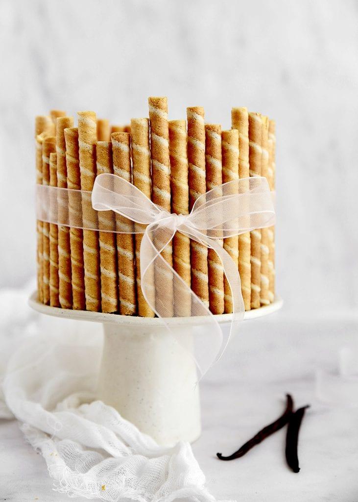 עוגת גבינה בניחוח וניל