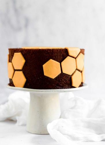 עוגת דבש תפוז